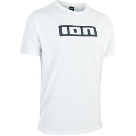 ION Maglietta con logo Uomo, bianco